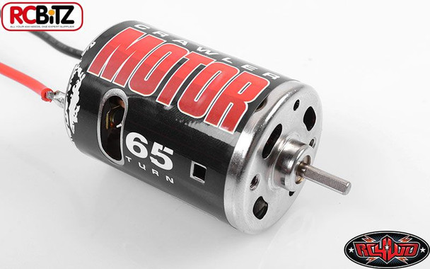 540 Crawler Brushed Motor by RC4WD 65T Z-E0002 Bullet Connectors TF2 G2 SCX10 RC
