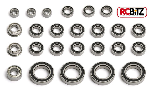 RC Bearings AXIAL Yeti COMPLETE set Rubber seals for long life ALL Bearing