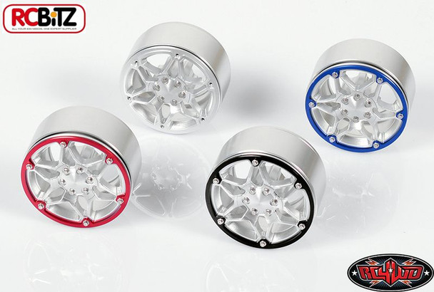RC4WD Revolution 1.9 Beadlock Wheels 4 colour rings included Scale Wheel Z-W0168
