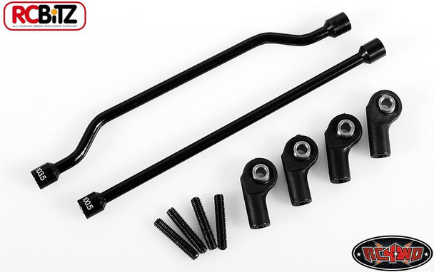 RC4WD Yota II Steering Link Set 103.5 & 100.5mm bars inc rod ends etc Z-S0938 D90