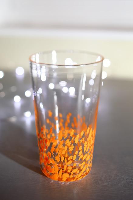 Large Tumbler - Tangerine Star