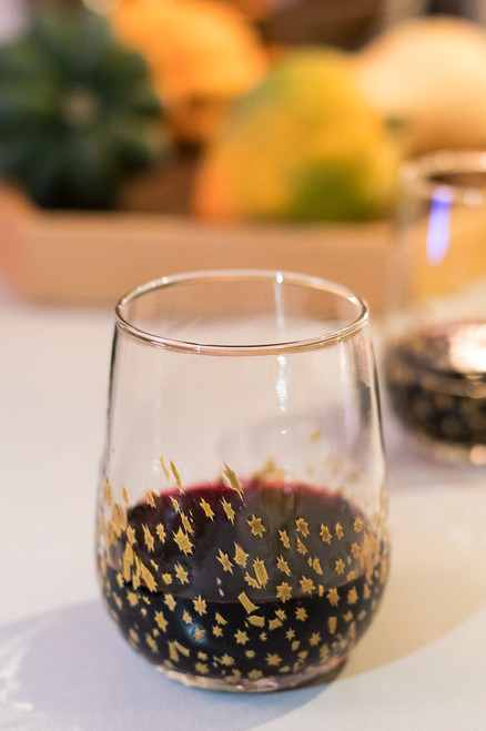 Large Wine - Gold Star