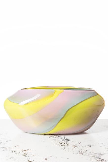 Daytona Vase - Pastel Swirl