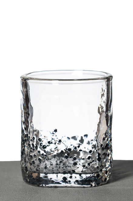 Rocks Glass - Black Star