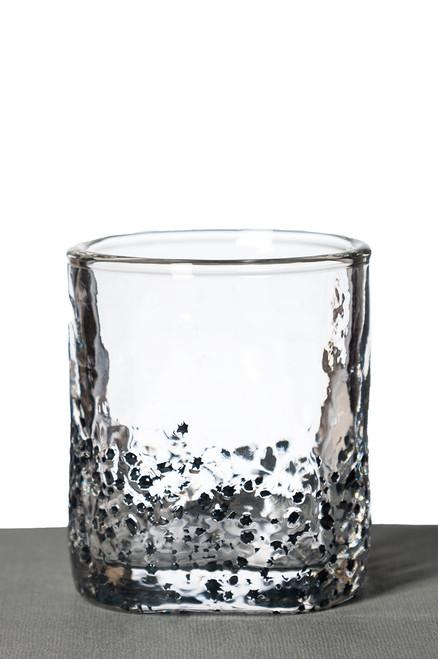 Rocks Glass - Black Star
