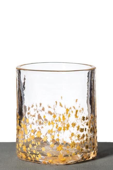 Rocks Glass - Gold Star
