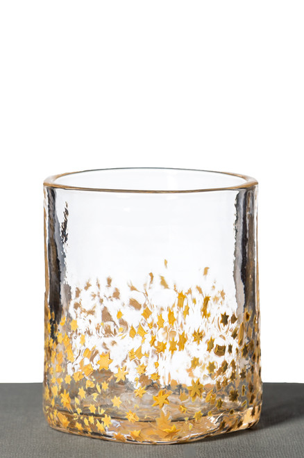 Rocks Glass - Gold Star