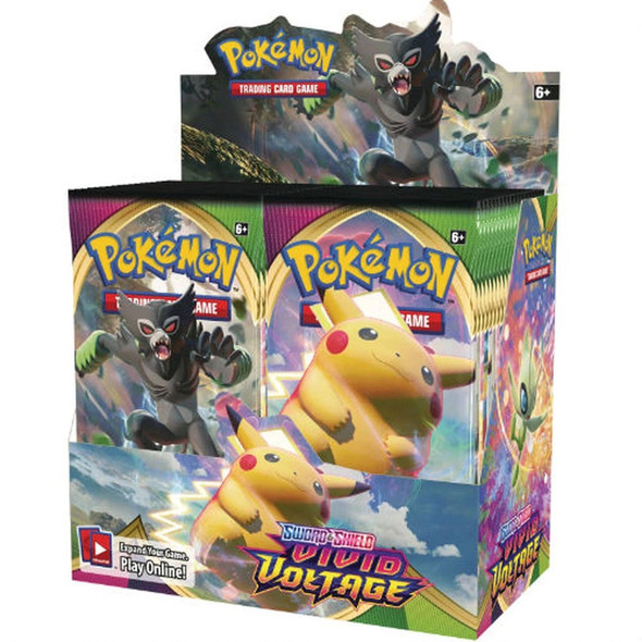 Pokemon Vivid Voltage booster box
