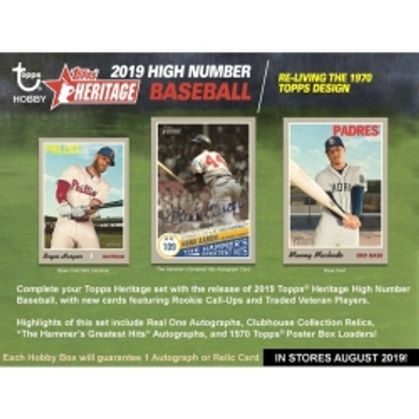 2019 Topps Heritage High Number Hobby