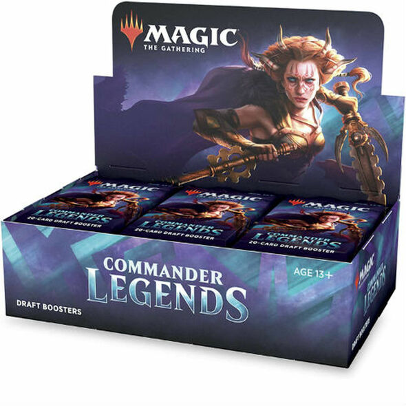 Commander Legends Draft Booster 6 Box Sealed Case