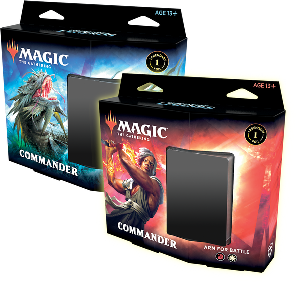 Magic Commander Legends Commander Deck 6 Box Sealed Case