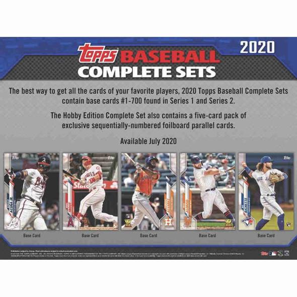 2020 Topps Baseball Complete Factory Set - Hobby