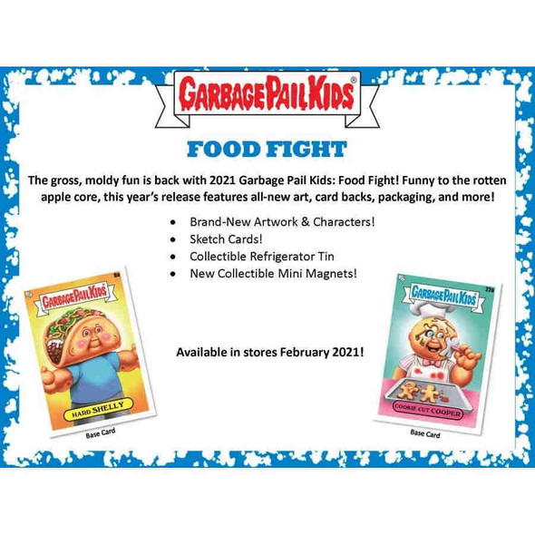 2021 Topps Garbage Pail Kids Food Fight Collector's Edition