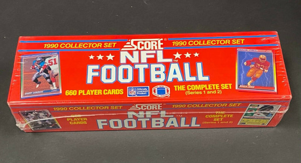 1990 Score Football Factory Sealed Complete Set