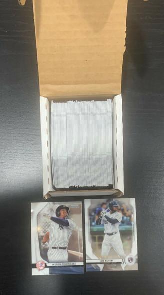 2020 Bowman Sterling COMPLETE 100-CARD SET Prospects & Rookies ROBERT-DOMINGUEZ
