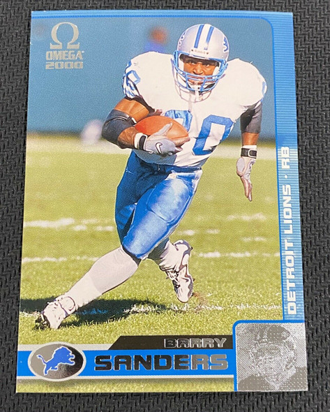 Barry Sanders 2000 Pacific Omega Lot of 96 Lions