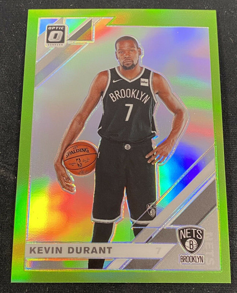 Kevin Durant 2019-20 Donruss Optic Lime Green /149 Nets