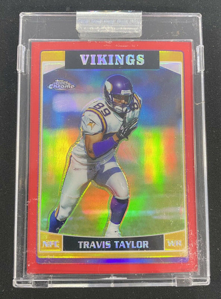 Travis Taylor 2006 Topps Chrome Red Refractor /259