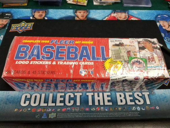 1988 Fleer Baseball Factory Set Sealed