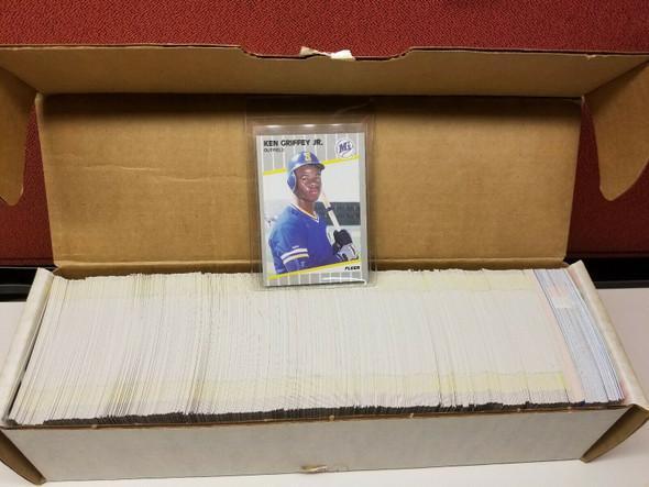 1989 Fleer Baseball Complete Set 660 Plus Stickers