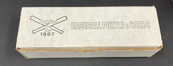 1987 Donruss Baseball Factory Sealed Complete Set