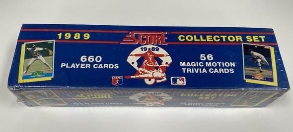 1989 Score Baseball Factory Sealed Complete Set