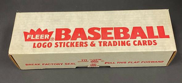 1989 Fleer Baseball Factory Sealed Complete Set