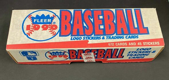 1990 Fleer Baseball Factory Sealed Complete Set