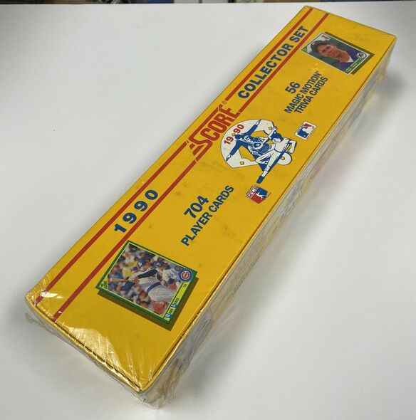 1990 Score Baseball Complete Set Factory Sealed