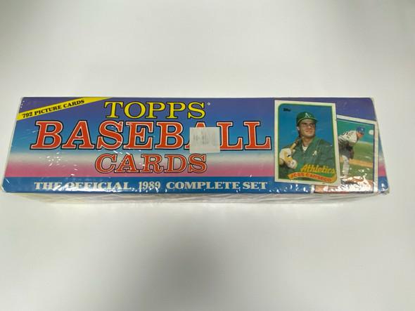 1989 Topps Baseball Factory Sealed Complete Set