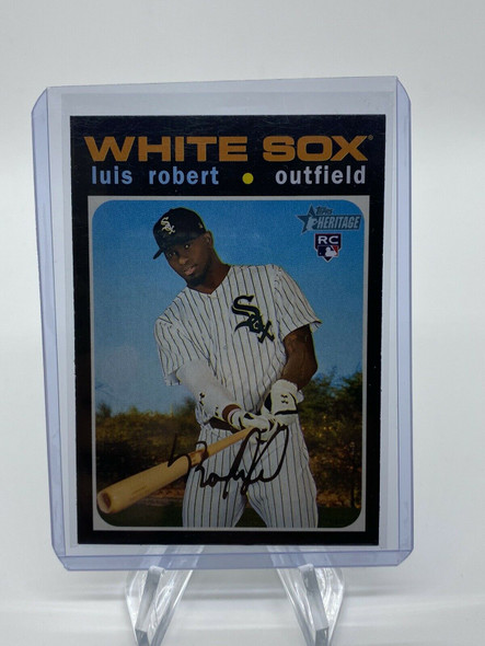 Luis Robert 2020 Topps Heritage High Number Rookie WHITE SOX SP