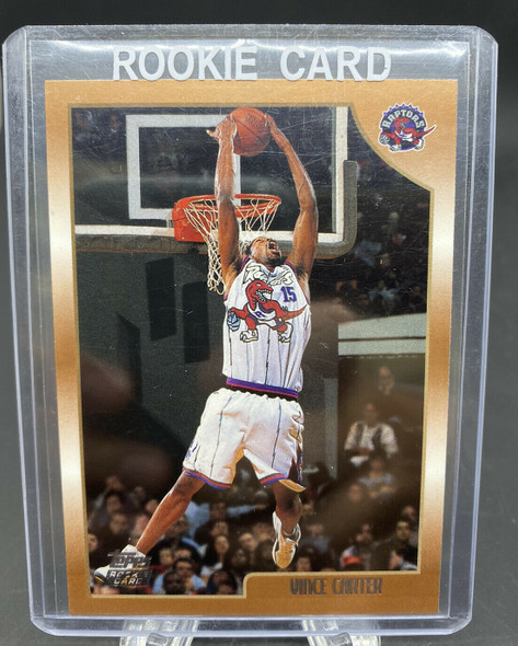 Vince Carter 1999 Topps Rookie #199