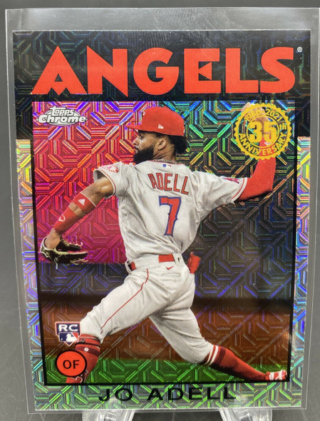 Jo Adell 2021 Topps Series 2 Silver Mojo Rookie ANGELS