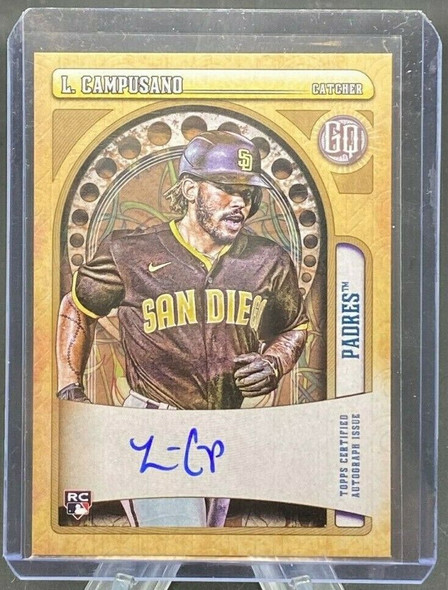 Luis Campusano 2021 Topps Gypsy Queen Rookie Autograph San Diego Padres