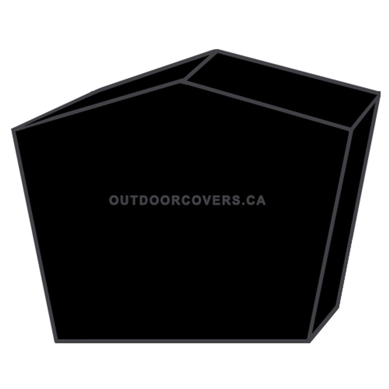Advantage table saw cover shape