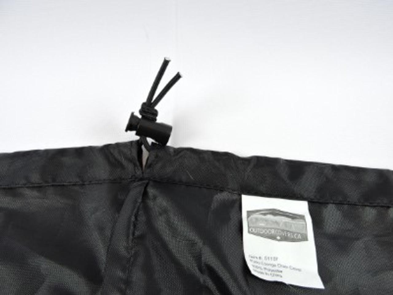 Advantage shock cord hem with adjustable lock for snug fit