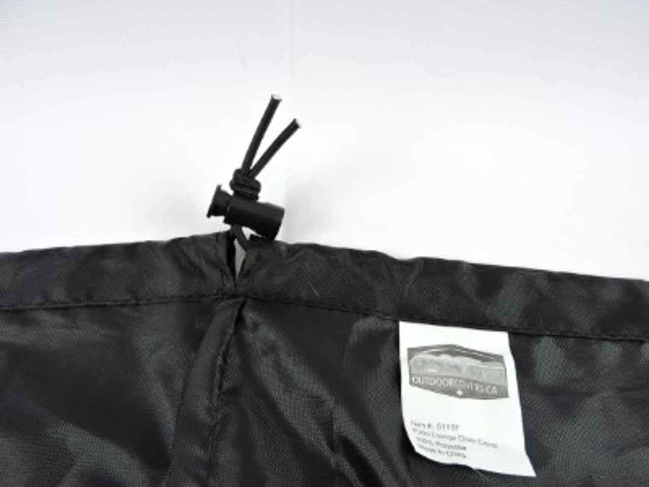 Advantage shock cord hem with adjustable lock for snug fit