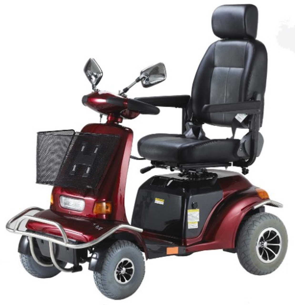 Typical large mobility scooter