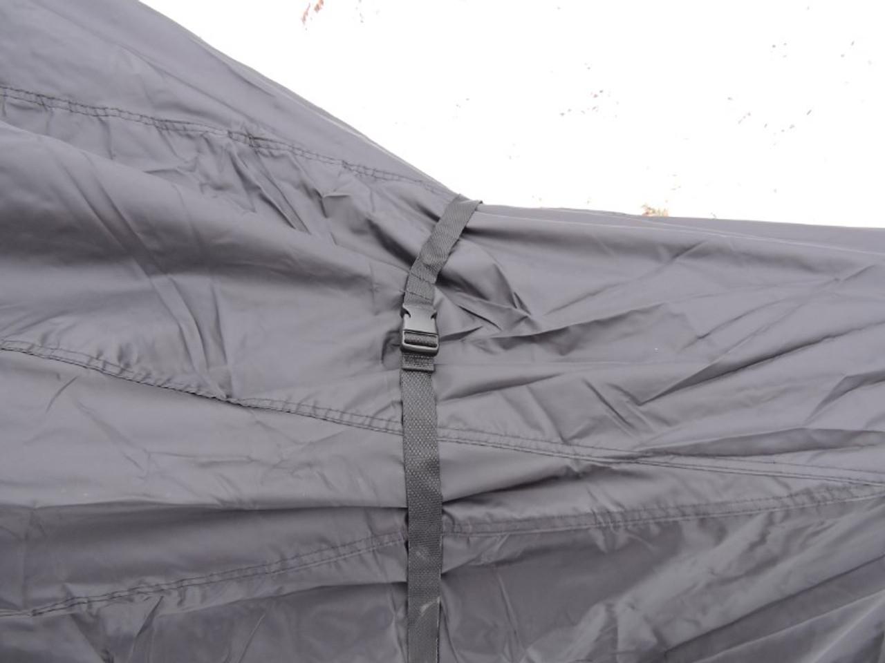Advantage snowmobile cover center strap