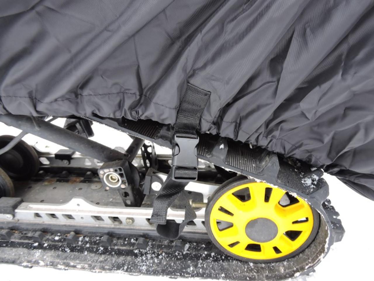 Advantage snowmobile cover rear strap