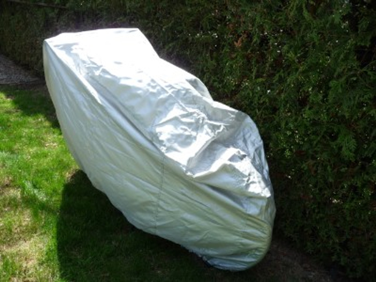 Weather Guard Bicycle cover photo back view