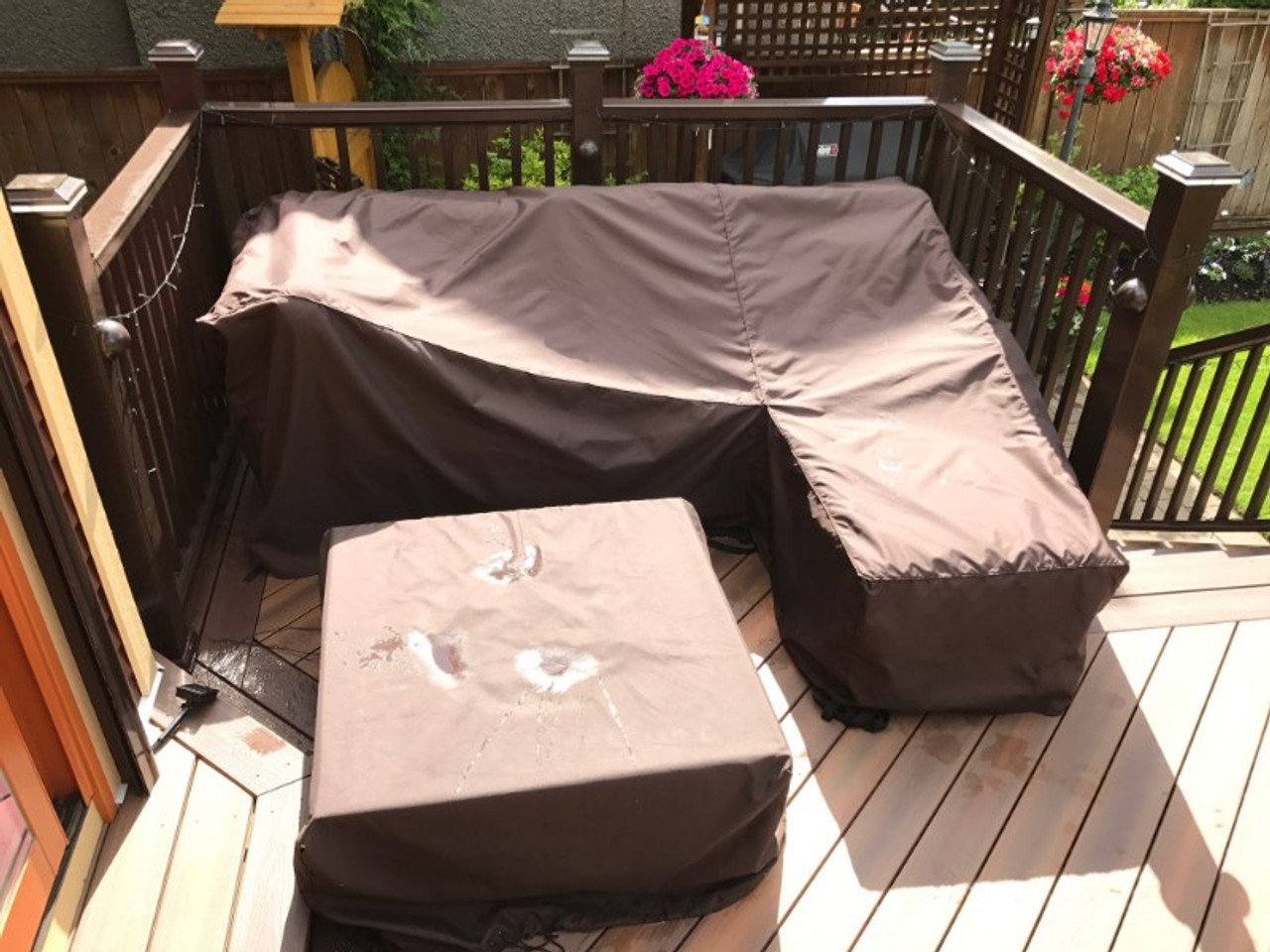 Custom Patio Sectional Cover Outdoor Covers Canada