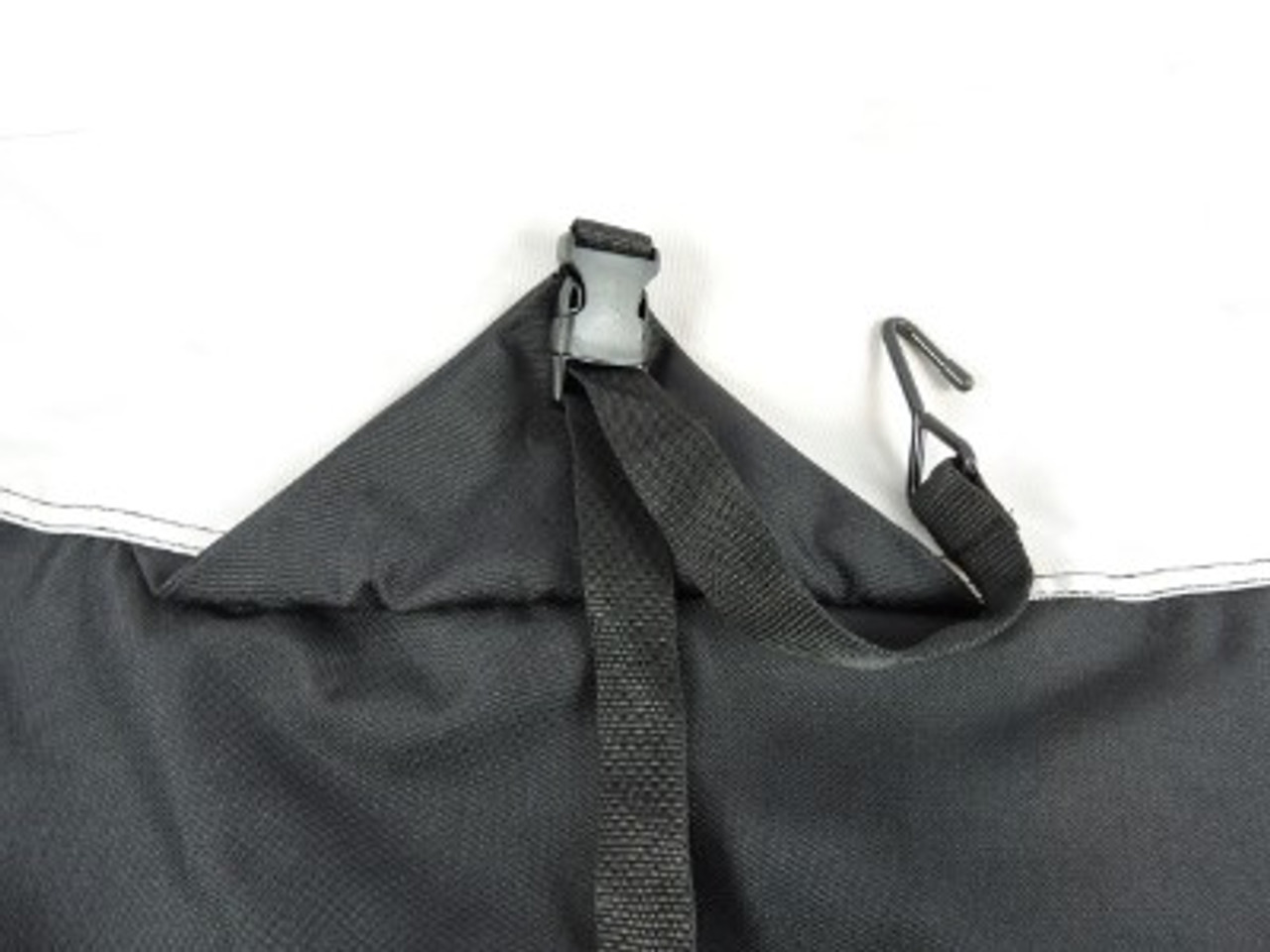 Nanook extra reinforced strap tabs for secure trailering