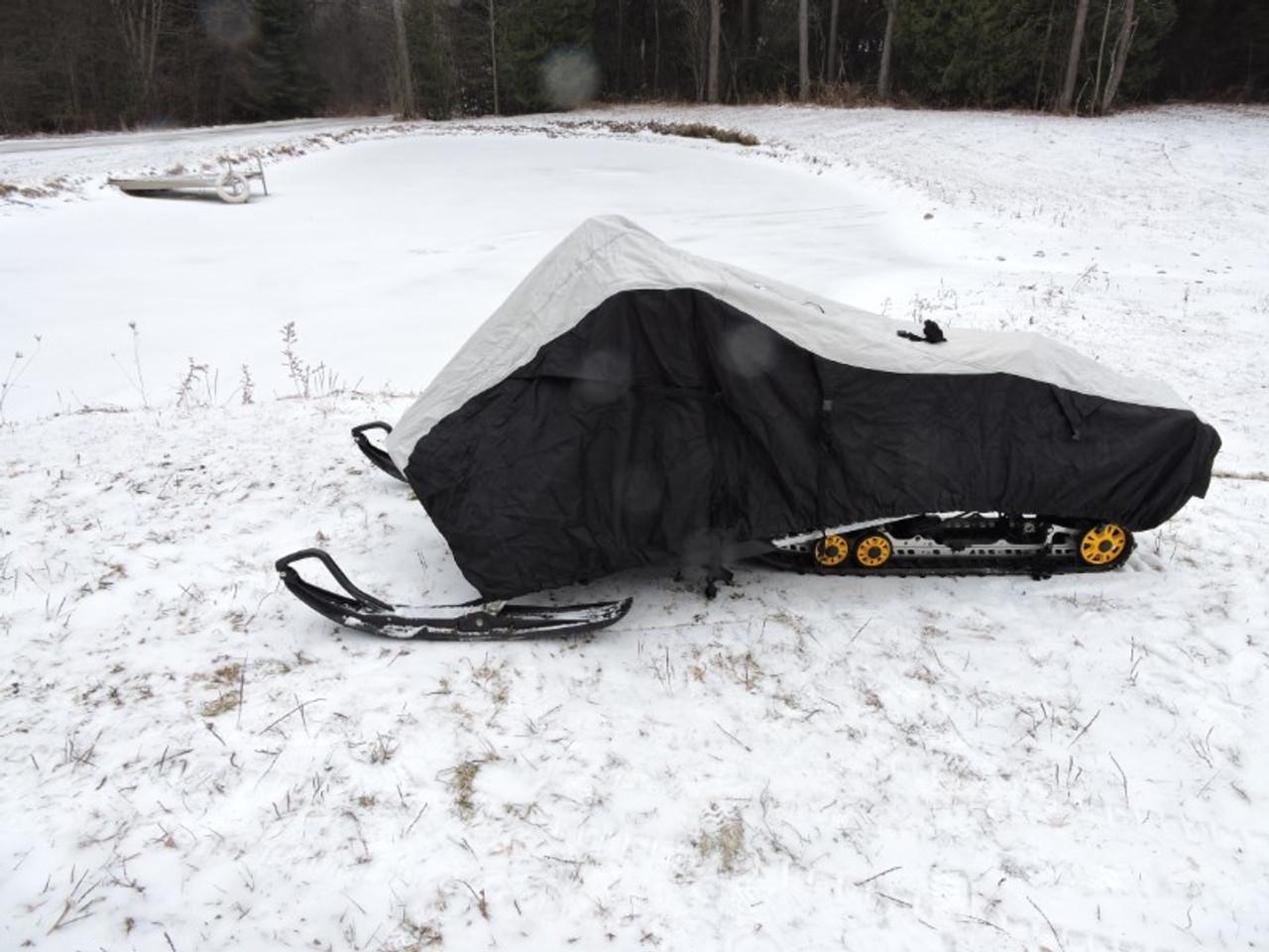 Nanook snowmobile cover side view