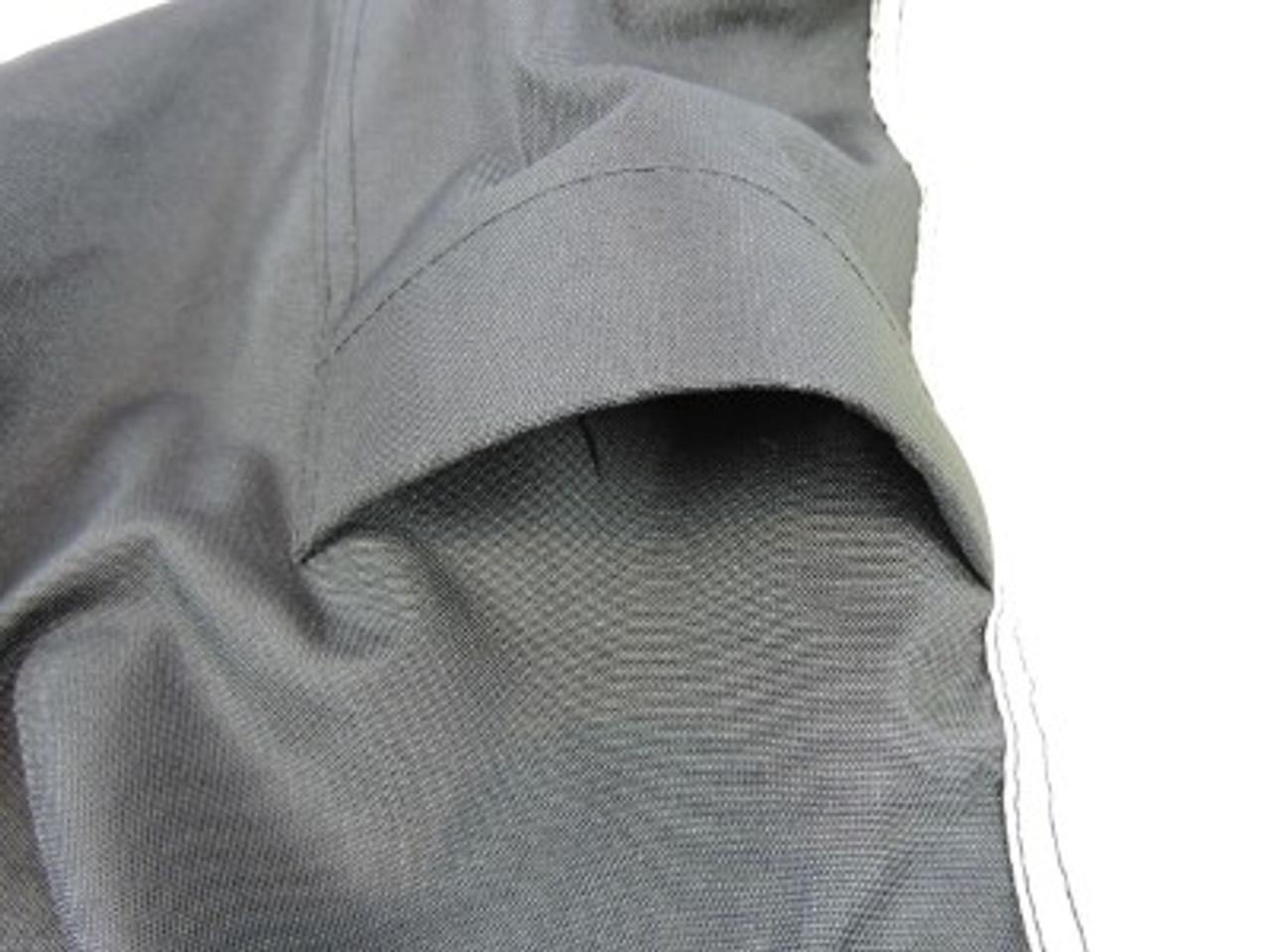 Nannok rear air vents for air circulation and reduced wind lofting