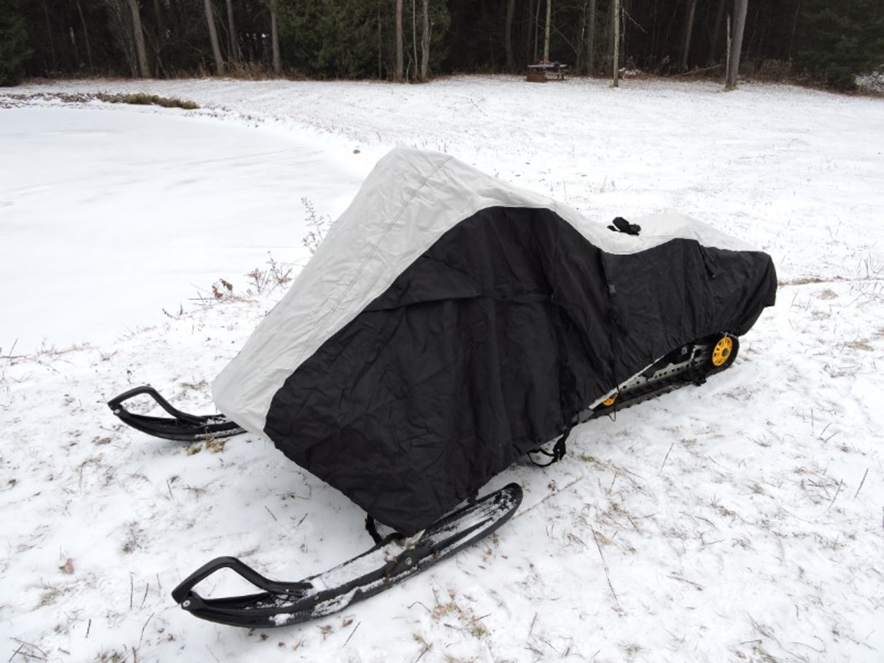 Nanook snowmobile cover front view