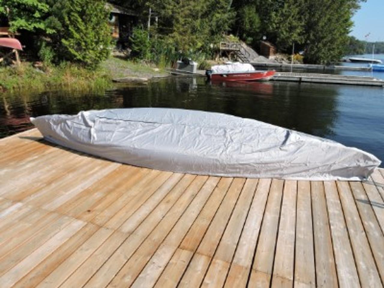 Venture Canoe Kayak Cover enclosed