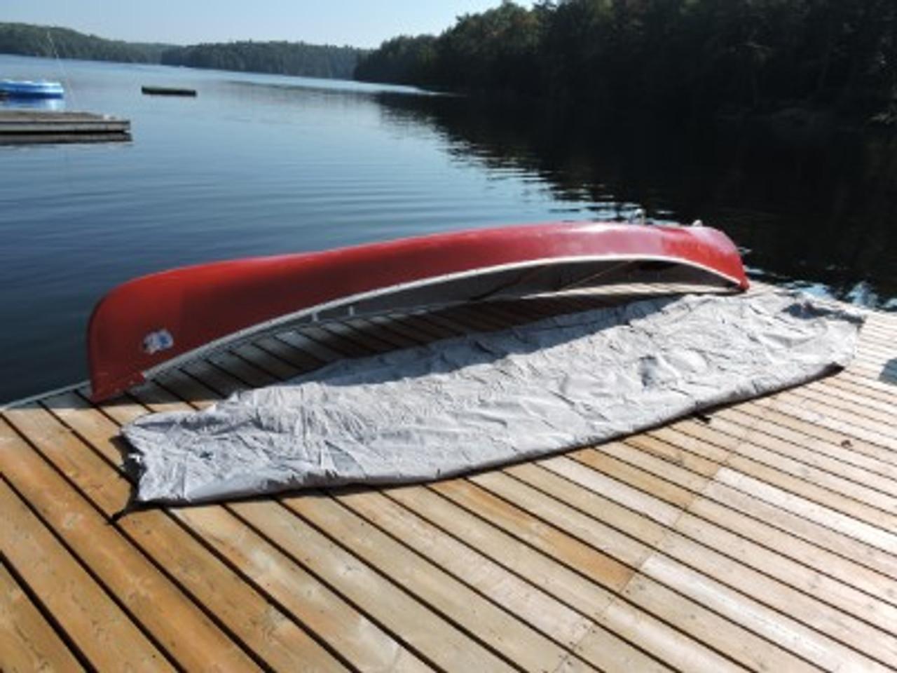 Venture Canoe Kayak Cover extended