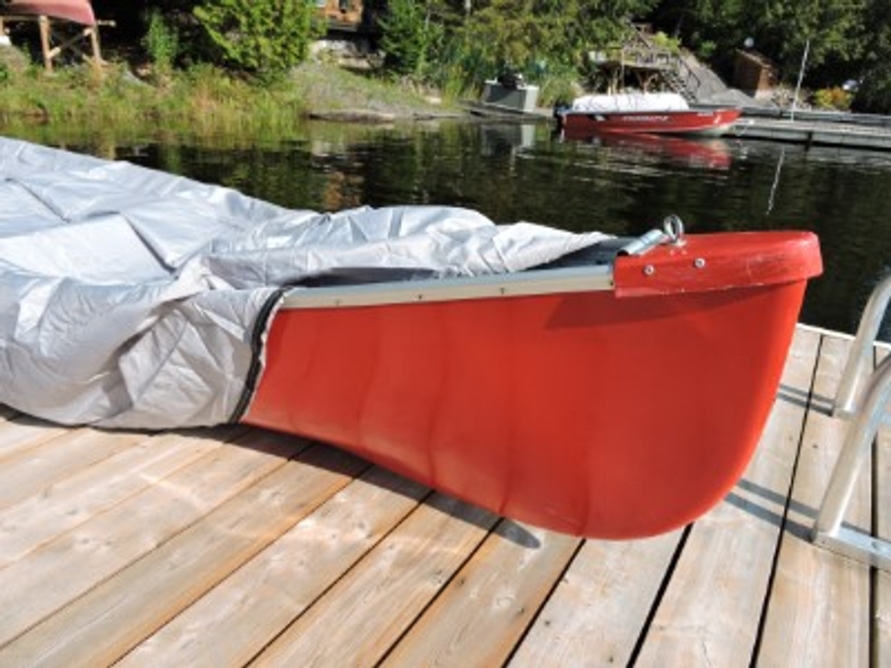 Venture Canoe Kayak Cover open end zipper closure