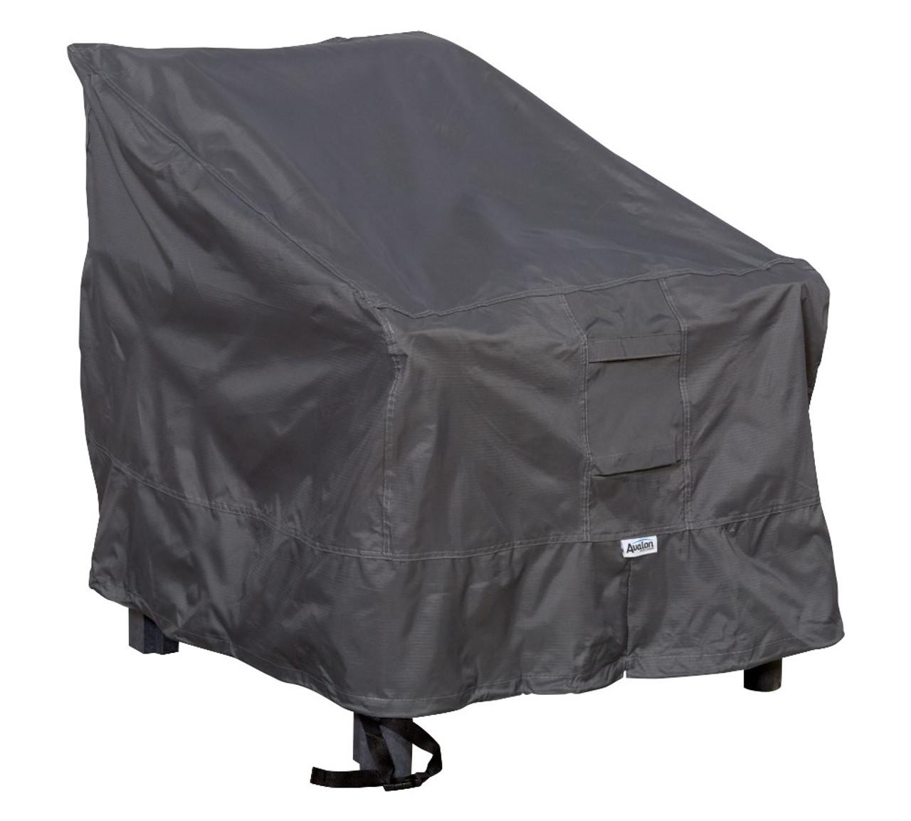 Avalon high back chair cover